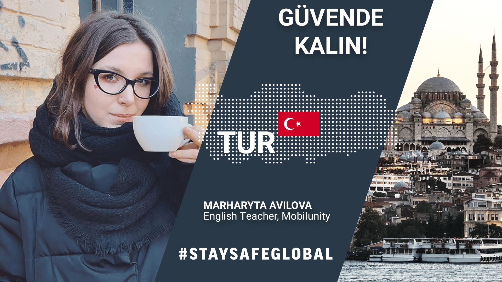 Stay safe in Turkish