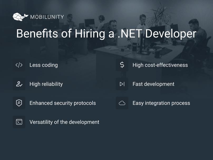 benefits of hiring .NET developers
