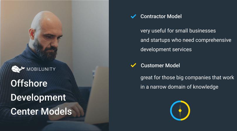 dedicated offshore development center models