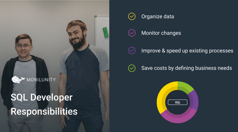 main responsibilities of SQL programmer