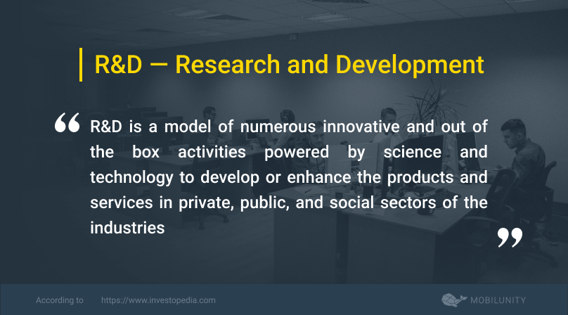 r&d or research and development definition