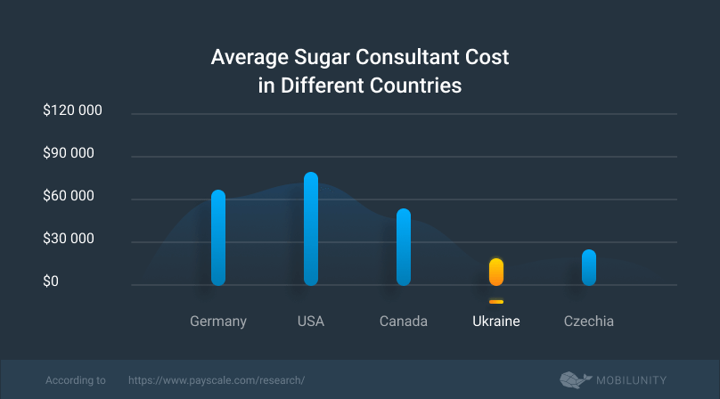 average Sugar CRM consultant cost