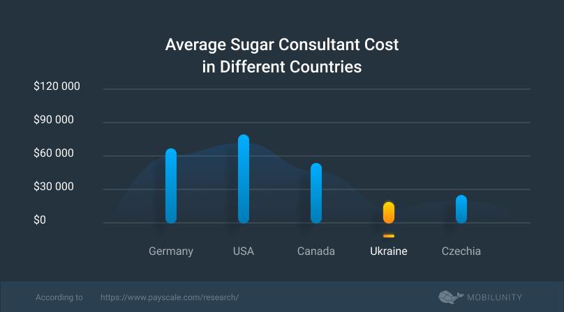 average Sugar CRM consultant cost