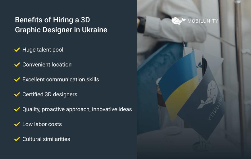 benefits of hiring 3D graphic designer
