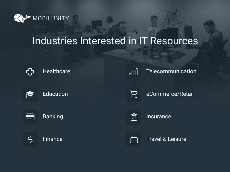 industries using tech resources