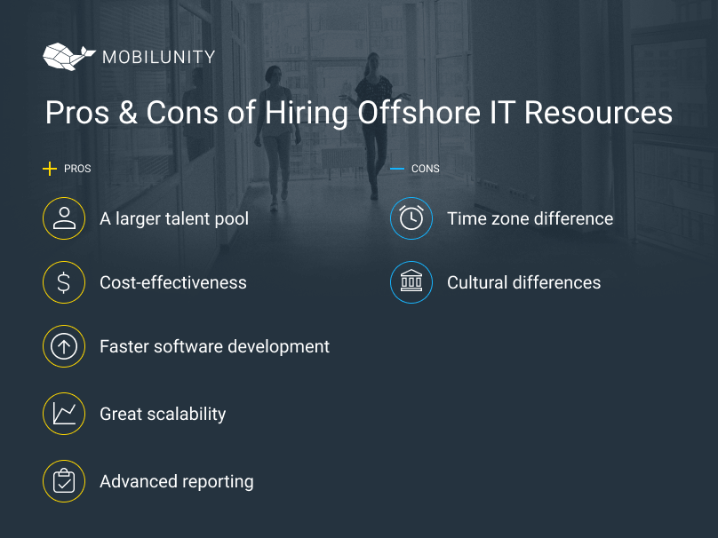pros and cons of hiring offshore resources