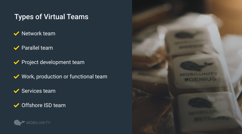 vtm services types of virtual teams