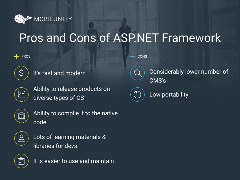 ASP.NET development pros and cons