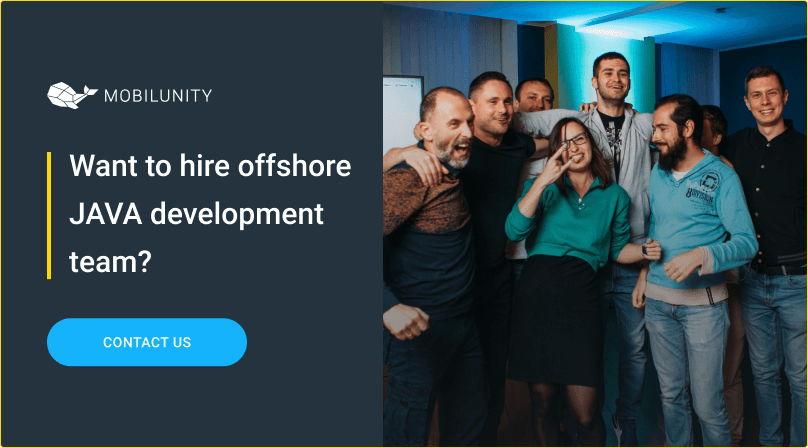 hire offshore java development team at mobilunity