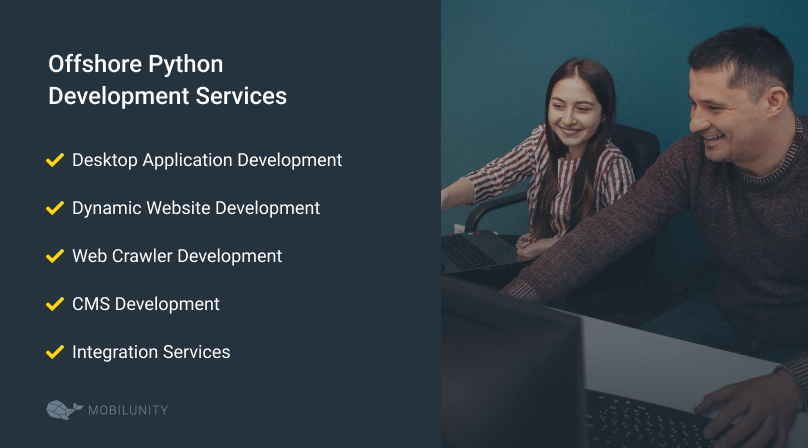 list of offshore python development services
