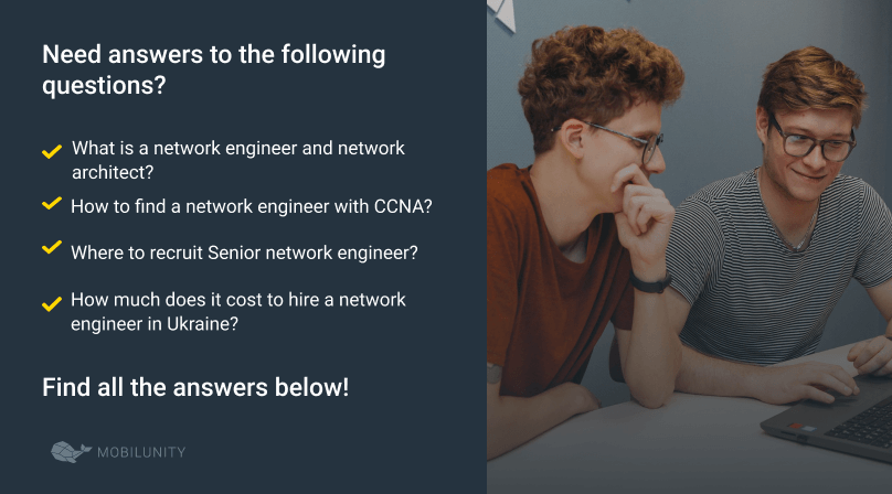 all about network support engineers
