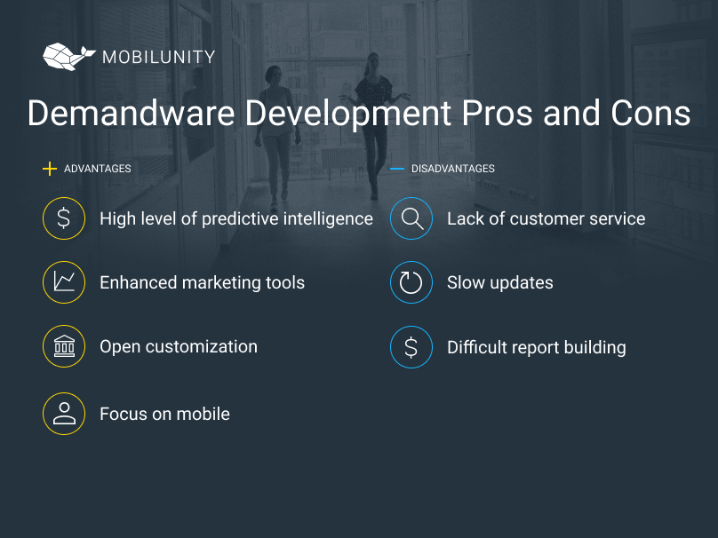 benefits and limitations of demandware development