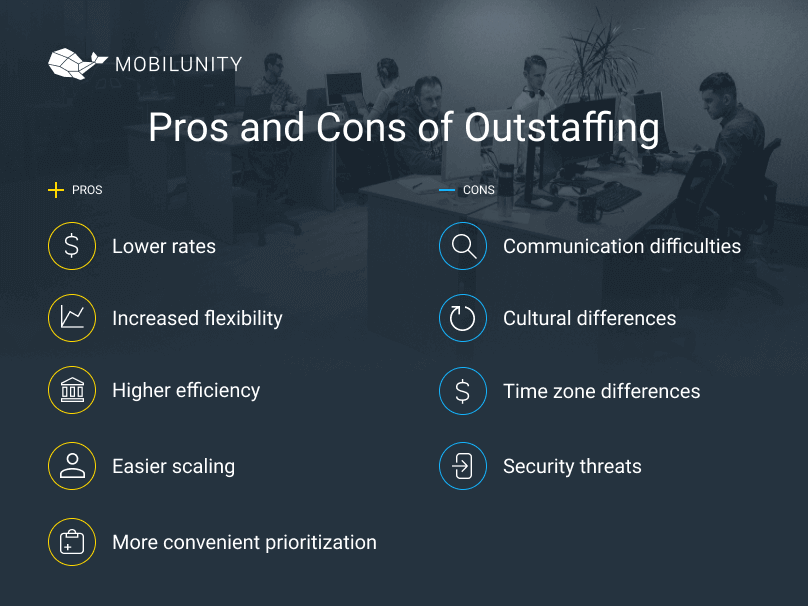 benefits and limitations of  outstaffing