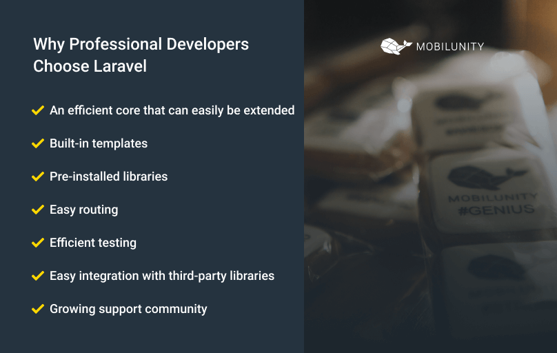 reasons why laravel developers love laravel