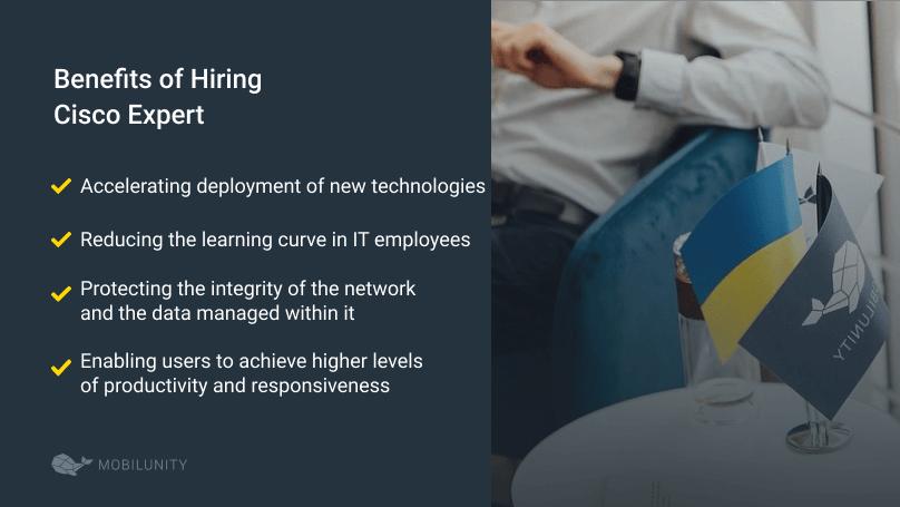 benefits of hiring cisco engineer