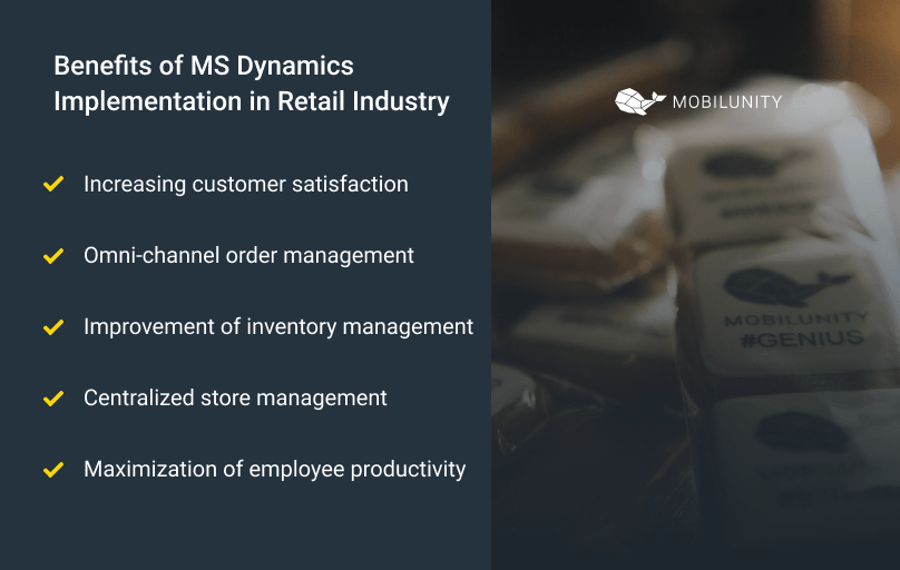 benefits of ms dynamics for retail
