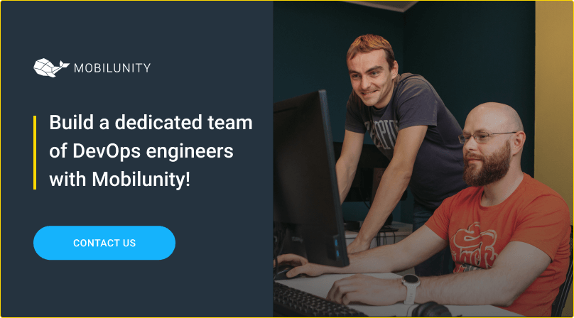building a devops team at mobilunity