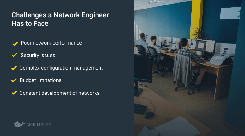 challenges of network engineer