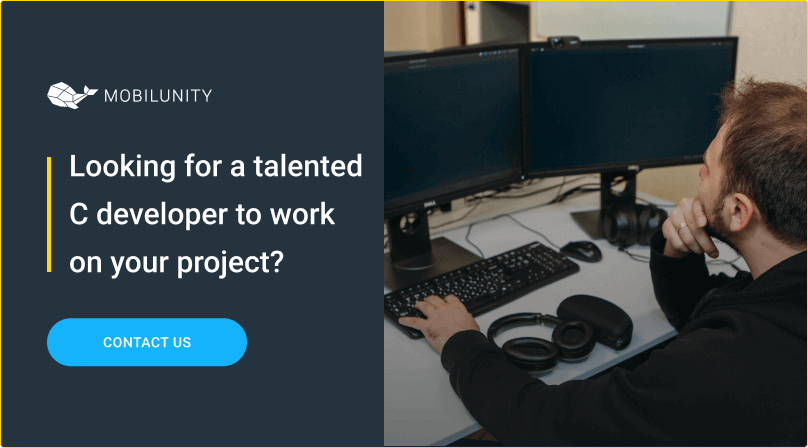 find at mobilunity a talented c programmers for hire