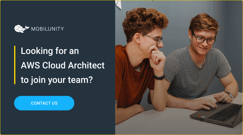 hire aws cloud architect at mobilunity