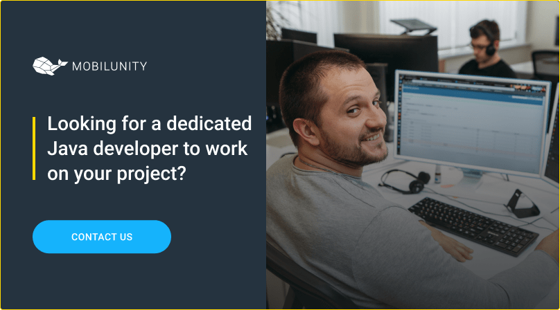 hire dedicated java developer at mobilunity