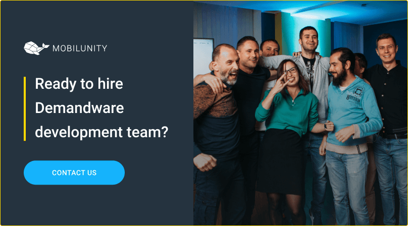 hire demandware developer at mobilunity