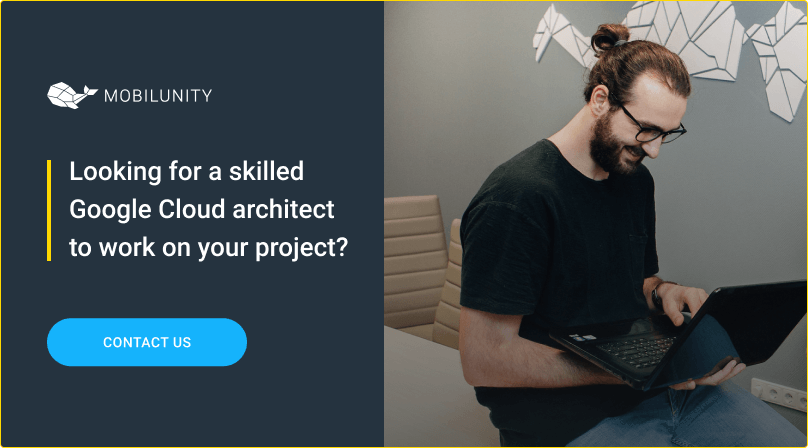 hire google cloud architect at mobilunity
