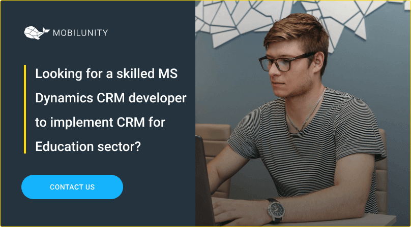 hire ms crm coder for ms dynamics implementation for education