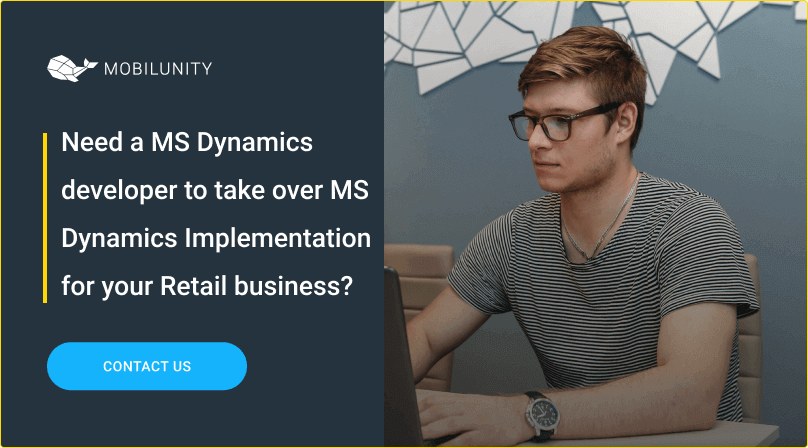 hire ms dynamics dev for ms dynamics for retail implementation