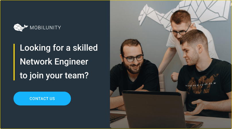 hire network engineers at mobilunity
