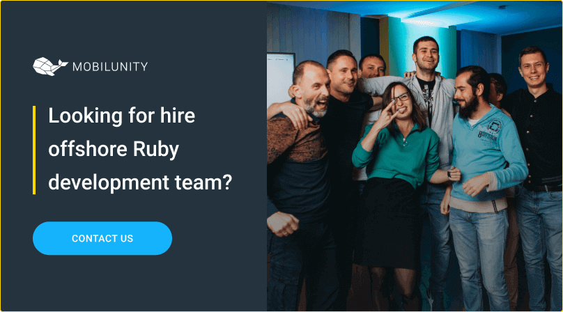 hire offshore ruby development team