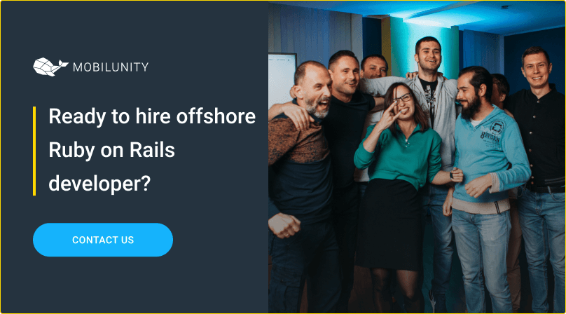 hire ruby on rails developer offshore