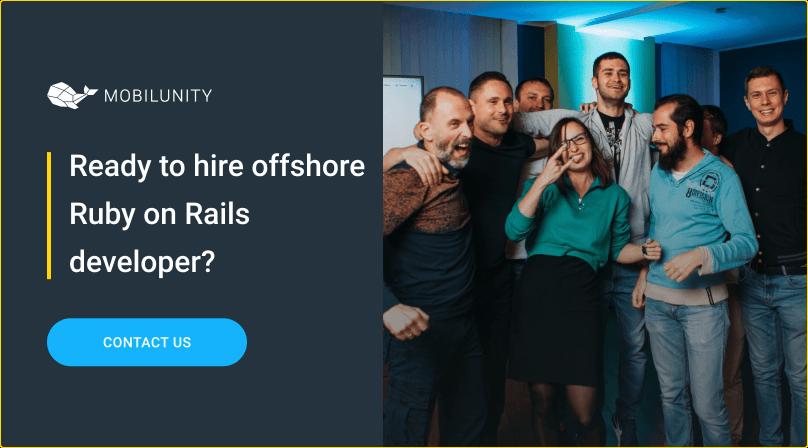hire ruby on rails developer offshore