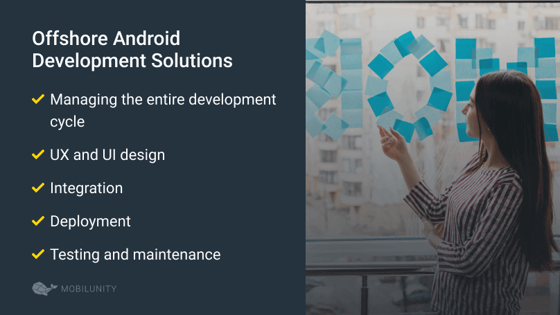 list of offshore android development solutions