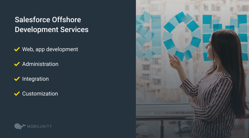 list of offshore salesforce development services