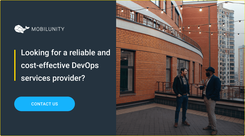 mobilinity as a professional devops services provider