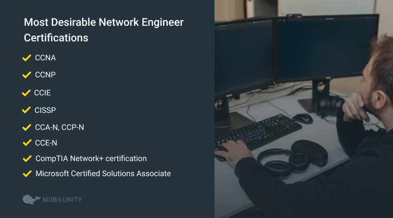 network engineer certifications