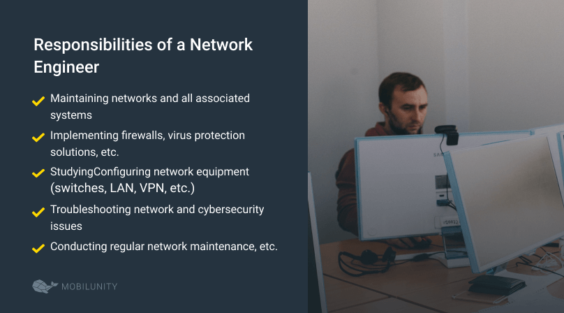network engineers responsibilities