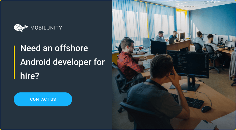 offshore android developer for hire