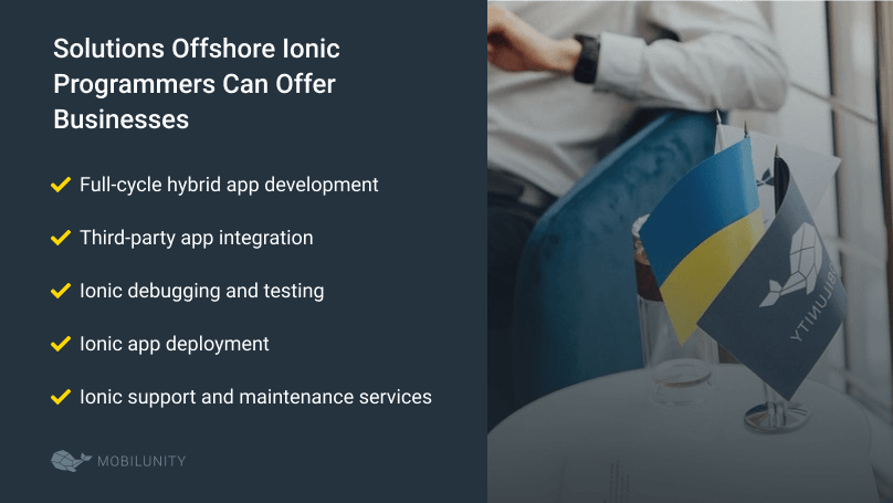 offshore ionic programmers solutions