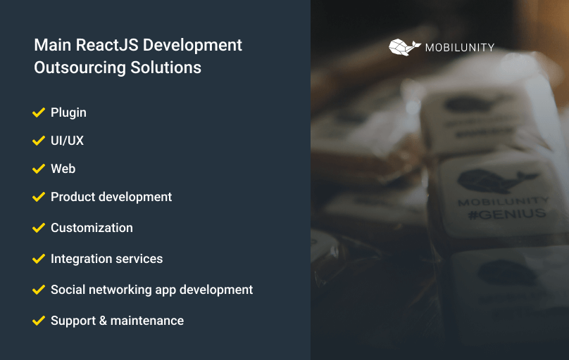 react development outsourcing solutions