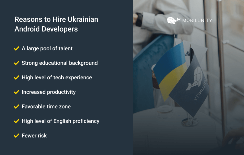 reasons to hire android developers in ukraine