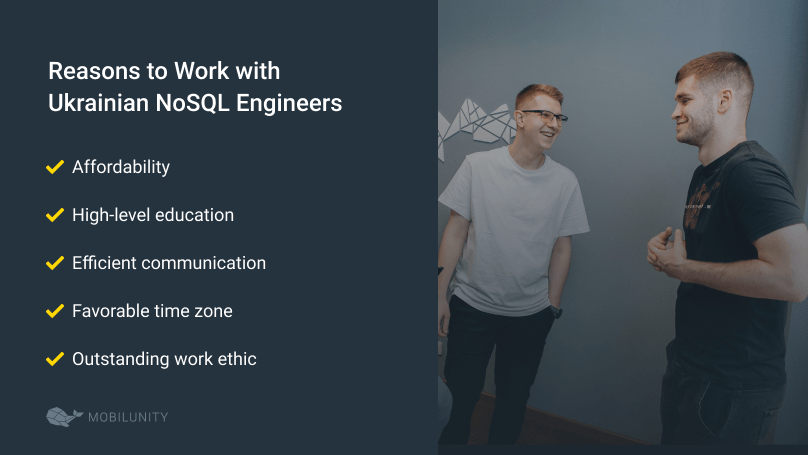 reasons to hire nosql expert in ukraine