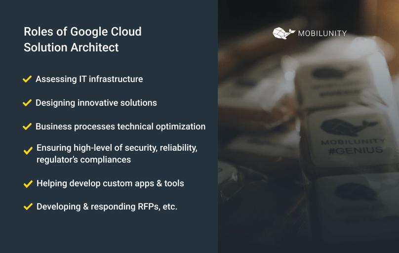 roles of google cloud architect