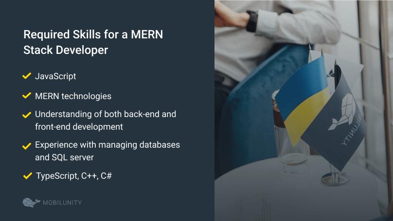 skills for a mern stack developer