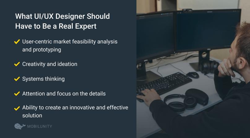 skills of UI UX designer