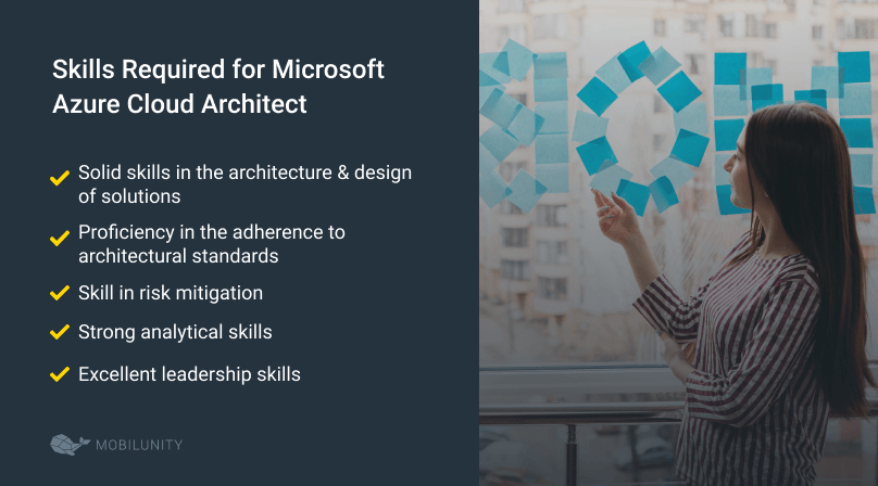 skills required for azure cloud architect