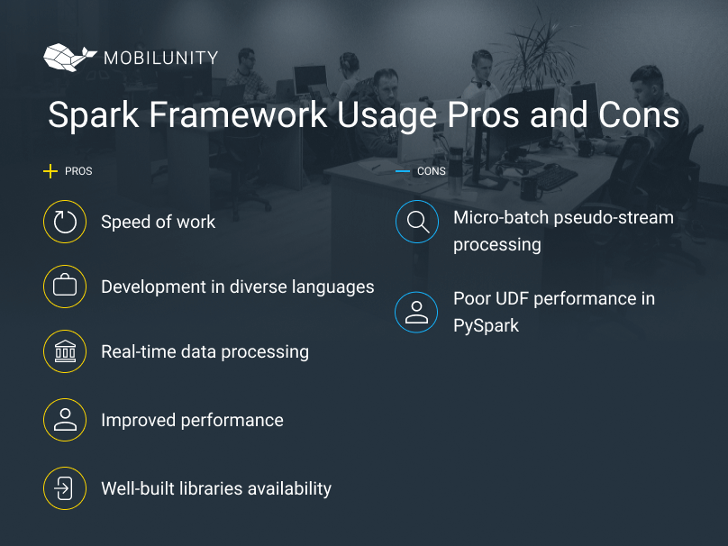 spark development benefits and limitations
