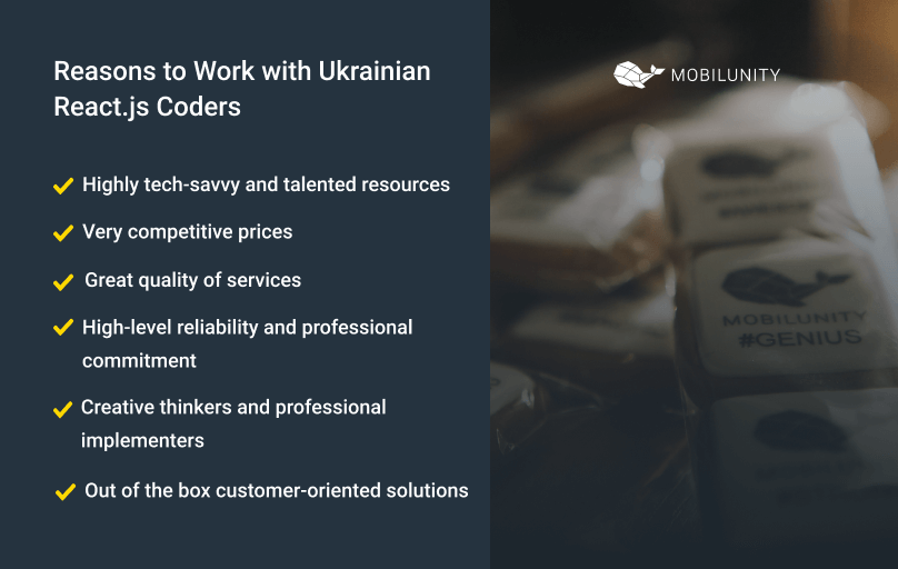 why to hire remote dedicated react.js developer in ukraine