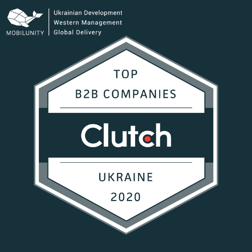 Clutch Award - Top B2B Companies in Ukraine